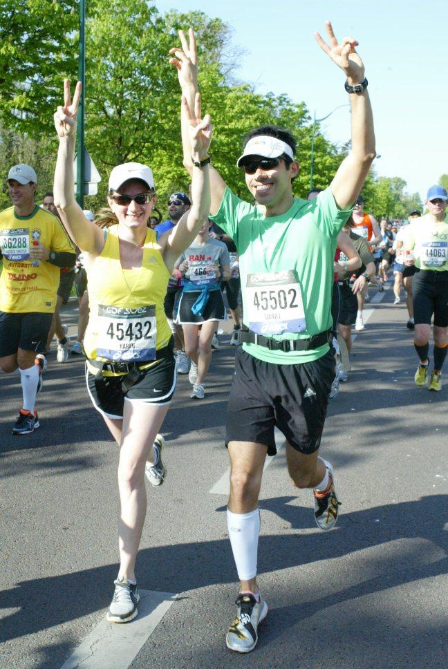 Paris Marathon 2011